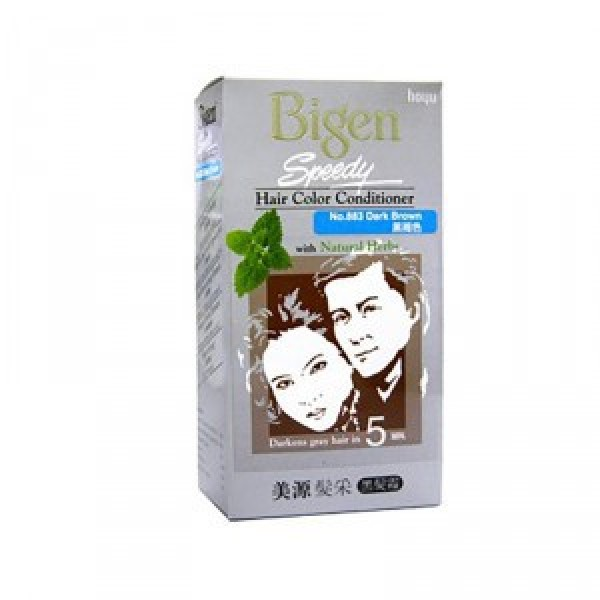 Bigen Speedy Hair Color - 883 Dark Brown