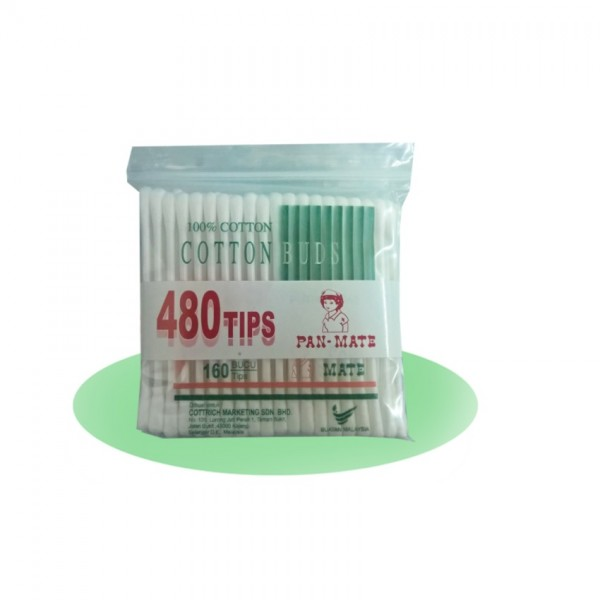 PAN-MATE COTTON BUDS 160S X 3