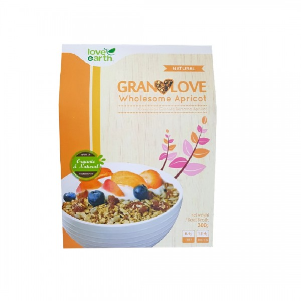 Love Earth Granolove Wholesome Apricot 300g