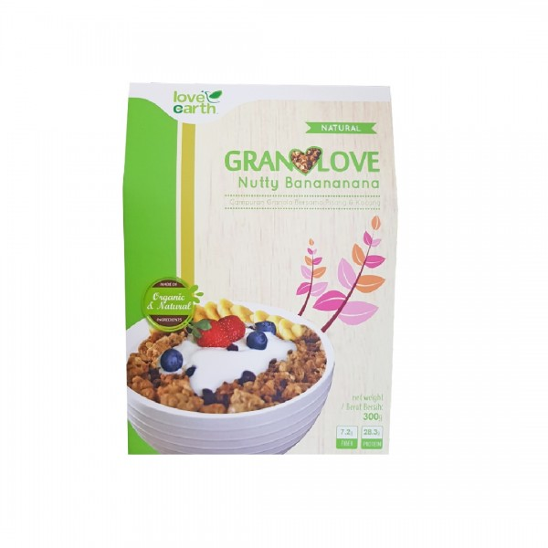 Love Earth Granolove Nutty Banananana 300g