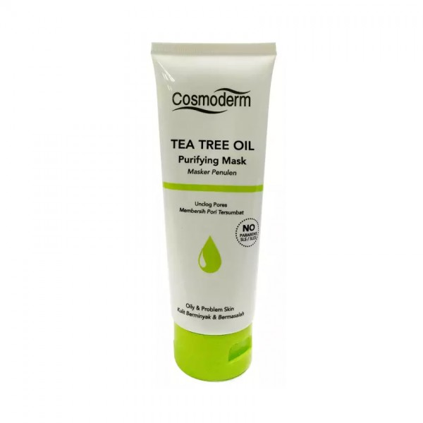 Cosmoderm Tea Tree Oil Purifying Mask 100Ml