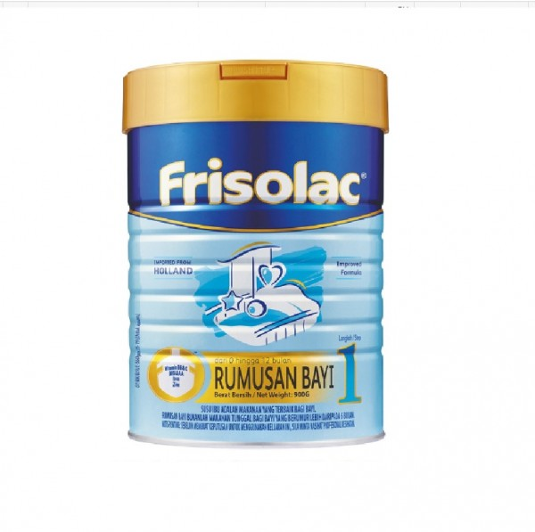 Frisolac Step 1 Formula Milk (900g)