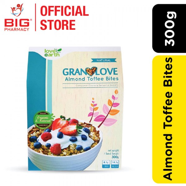 Love Earth Granolove Almond Toffee Bites (300g)