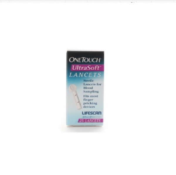 OneTouch Ultra Soft Lancets (25's)