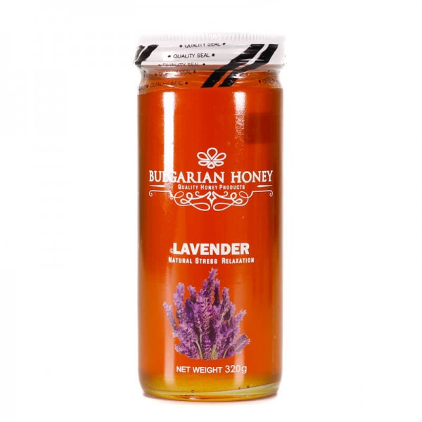 Bulgari Farm Organic Lavender Honey 320G