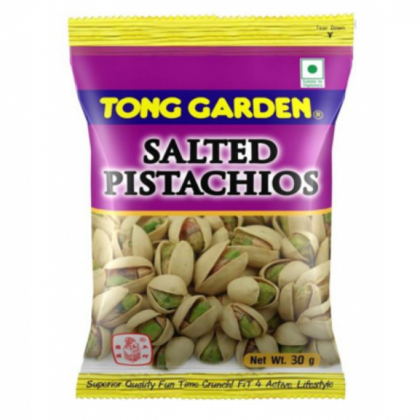 TG SALTED PISTACHIOS 35G