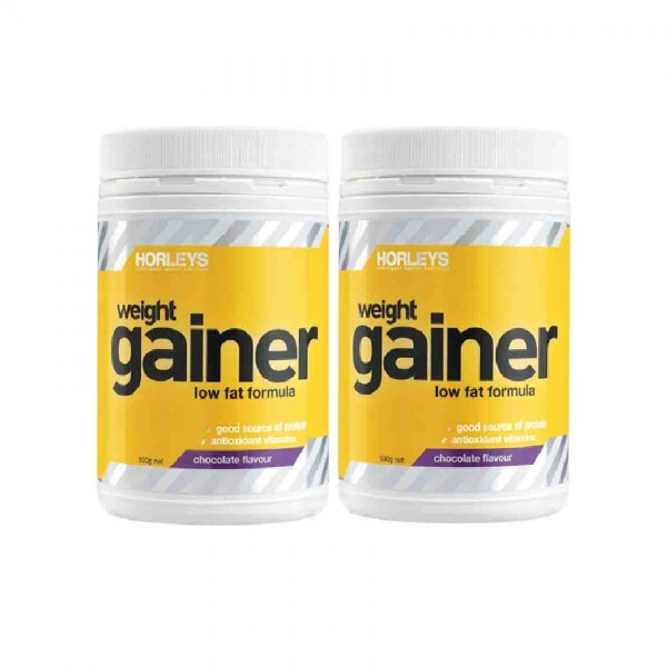 Horleys Weight Gainer - Vanilla (500g x 2)