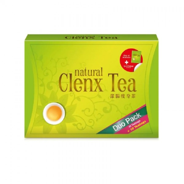 NH Detoxlim Natural Clenx Tea (40's) [Free 10's]