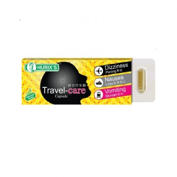 Hurix's Travel Care Capsule (6's)