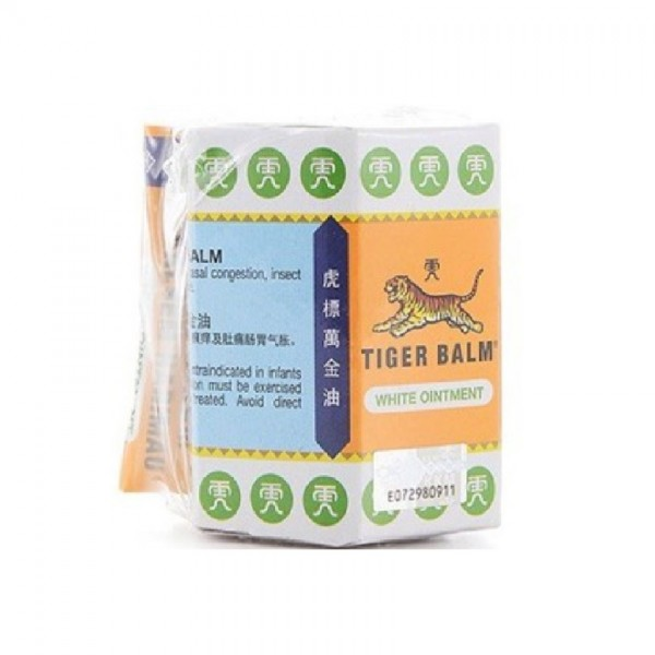 Tiger Balm Ointment White (30g) [Free 4g]