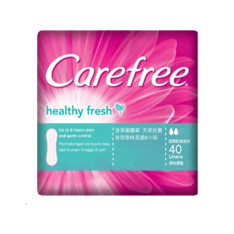 Carefree Healthy Fresh Pantiliners (40's)