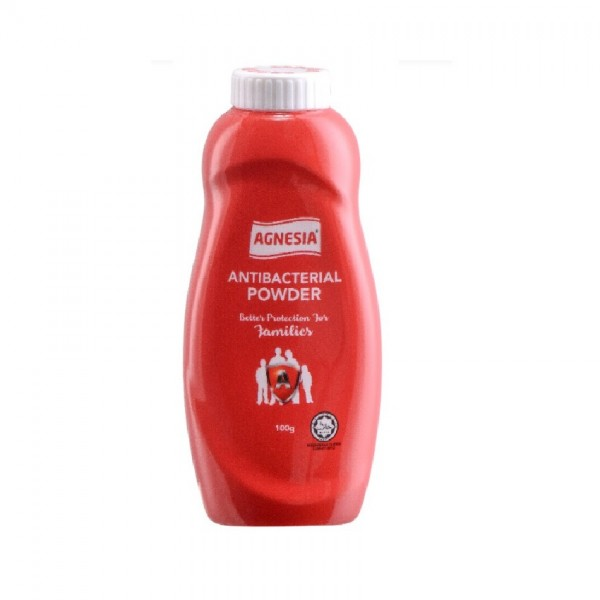Agnesia Antiseptic Dusting Powder Rose (100g)