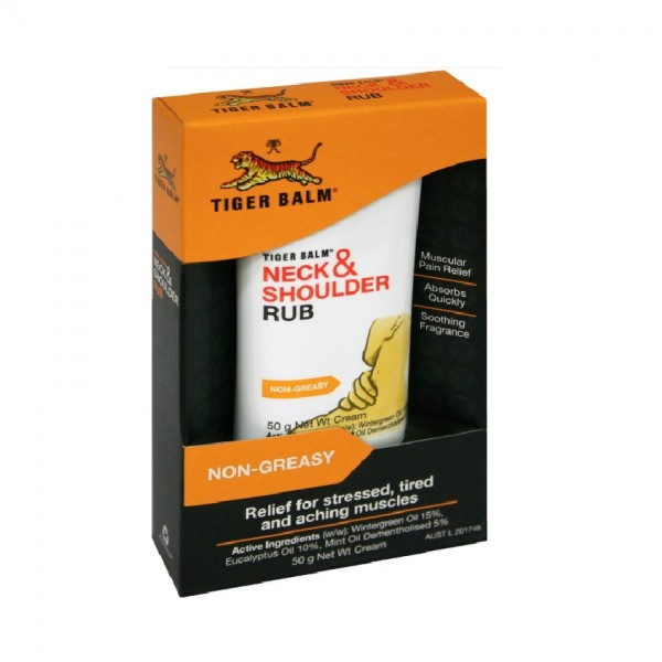Tiger Balm Neck & Shoulder Rub (50g)