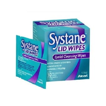 Alcon Systane Lid Wipes (30 Wipes)