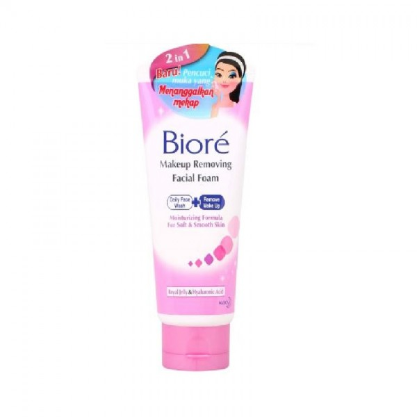 Biore Makeup Removing Facial Foam (100g)