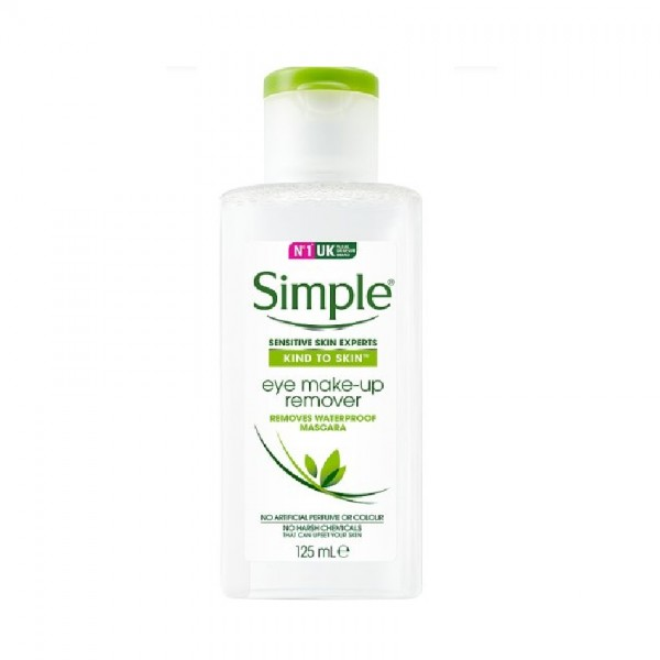 Simple Kind to Eyes Eye Make Up Remover (125ml)