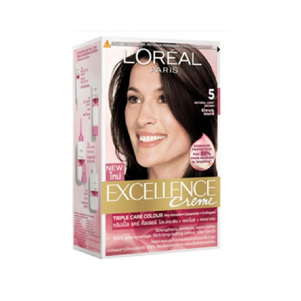 L'Oreal Excellence Creme - Natural Light Brown 5