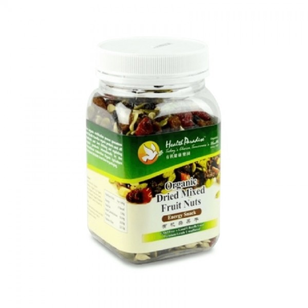 Health Paradise Organic Dried Mixed Fruit Nuts (200g)