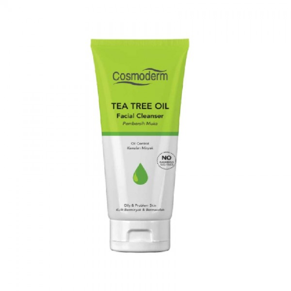 Cosmoderm Tea Tree Oil Cleanser with Vitamin E (125ml)