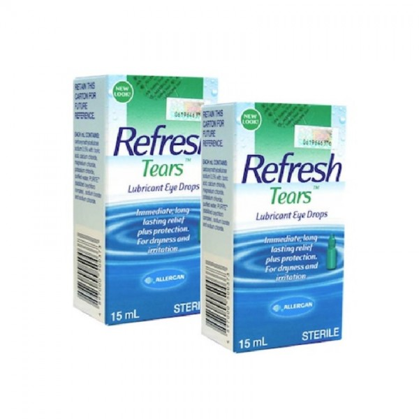 Allergan Refresh Tears (15ml) [Twin Pack]