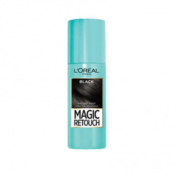 Loreal Magic Retouch Instant Root Concealer Spray Black 75Ml