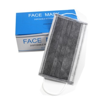 4 ply Active charcoal Carbon Face Mask  50S