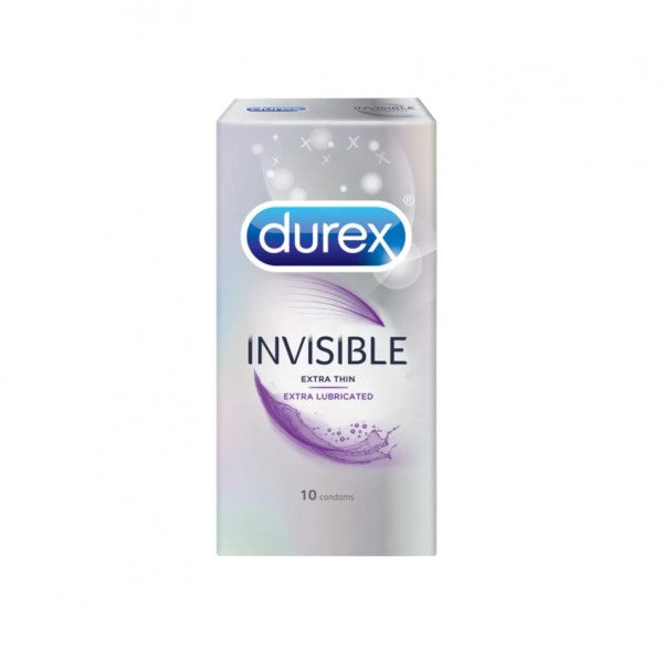Durex Invisible Extra Lubricated 10s