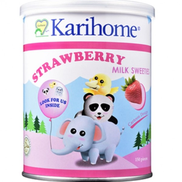 Kerihome Goat's Milk Sweeties - Strawberry (70's)
