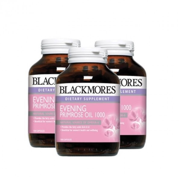 Blackmores Evening Primrose Oil 1000 (100's x 3)