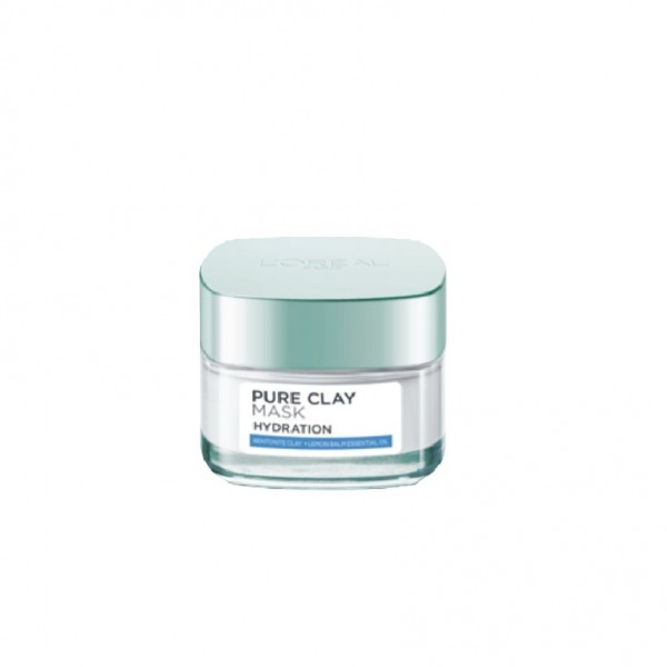 Loreal Pure Clay Mask Hydration 50G