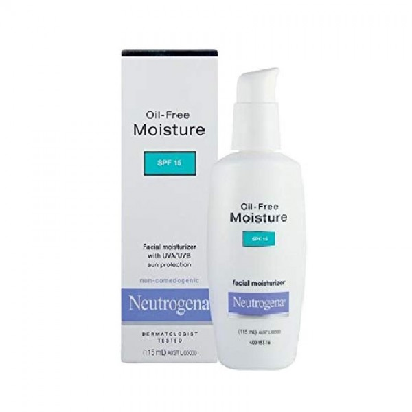 Neutrogena Moisture Spf15 Untinted 100Ml