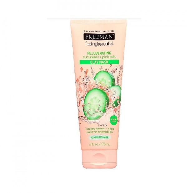 Freeman Cucumber & Pink Salt Clay Mask 175Ml