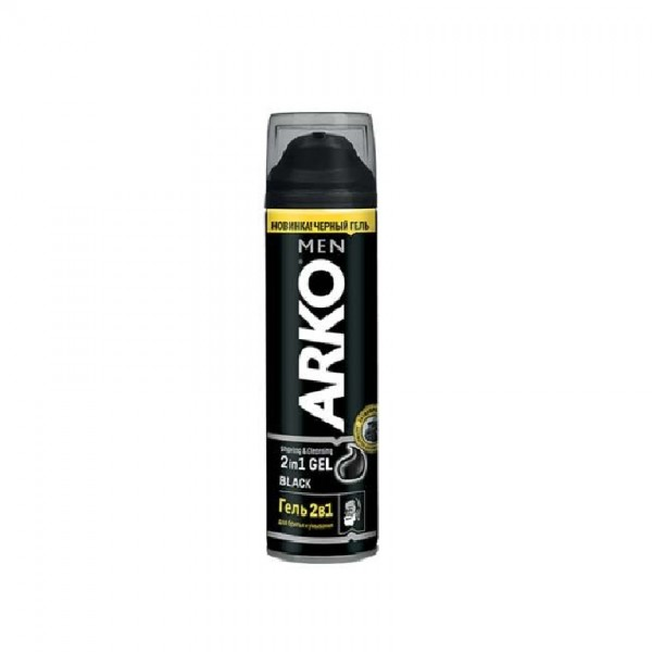 Arko Men Black Gel 200Ml