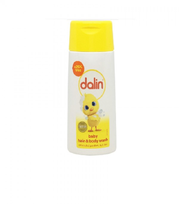 Dalin Baby Hair &Body Wash Classic 100Ml + 25Ml