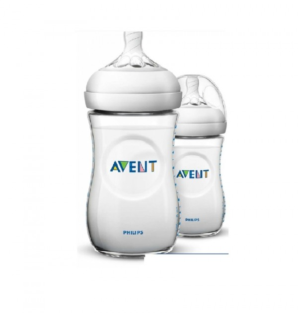 Avent Natural Bottle 260Ml X2 (Cf693/23)