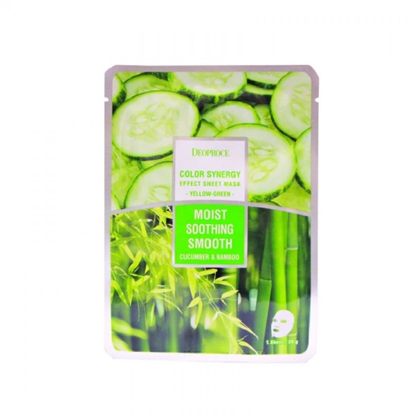 Deoproce Color Synergy Effect Sheet Mask Yellow Green