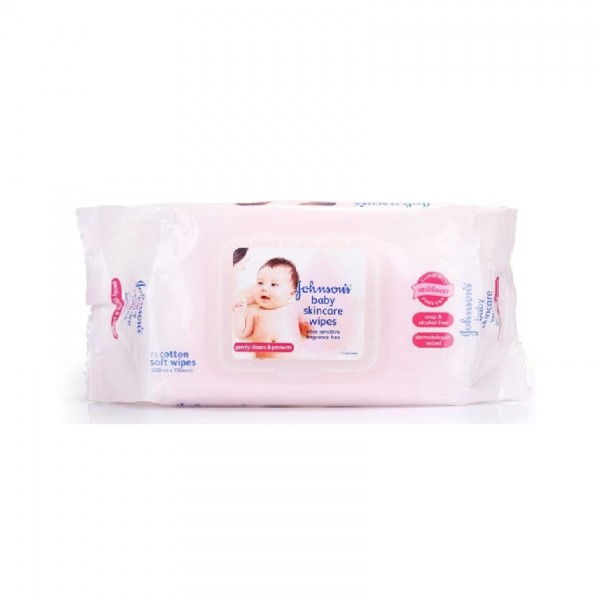 JBaby Wipes Skincare Fragrance Free 75S