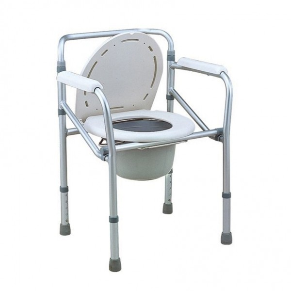 Green City Commode Chair No Wheel with Bucket 894