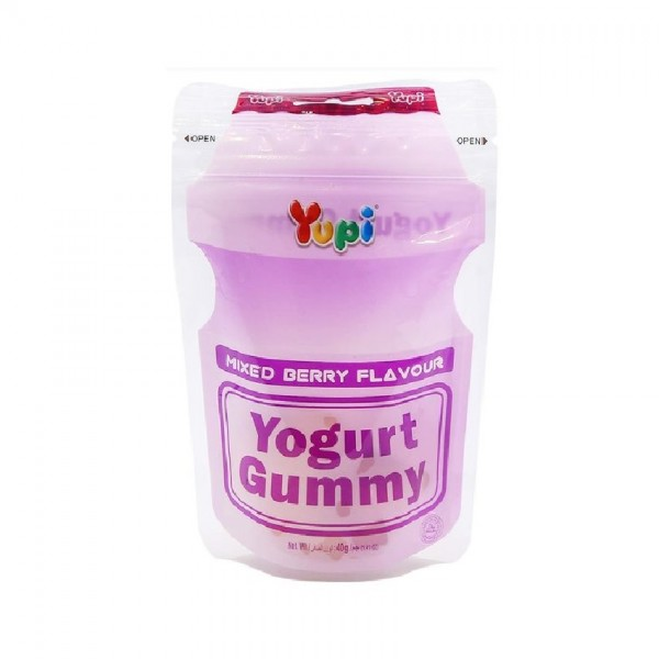 Yupi Yogurt Gummy Mixed Berries 40G