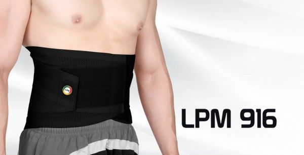 LPM Elastic Lumbar Support With Stays (XL) 916