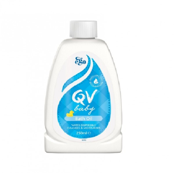 Ego Qv Baby Bath Oil 250Ml
