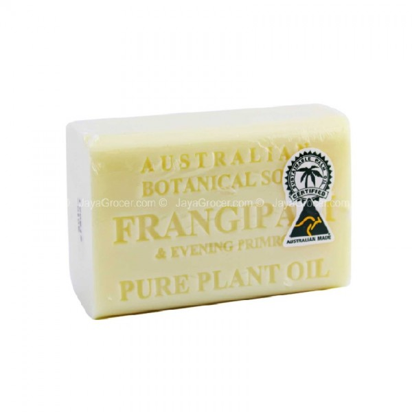 Australian Botanical Soap 140Gfrangipani & Evening Primrose