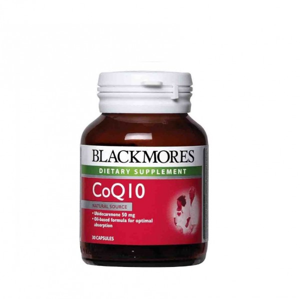Blackmores Co Q10 50Mg 30S