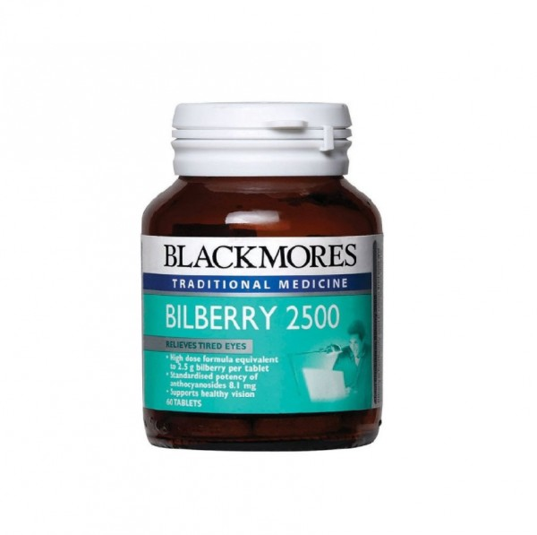 Blackmores Bilberry 2500Mg 60S