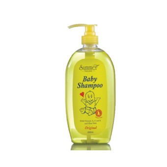 Summer Baby Shampoo Yellow 800Ml