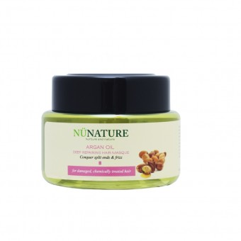 Nunature Argan Oil Deep Repairing Hair Masque 180Ml