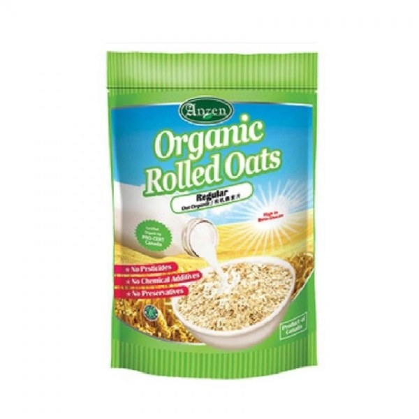 Anzen Organic Rolled Oats Regular 500G