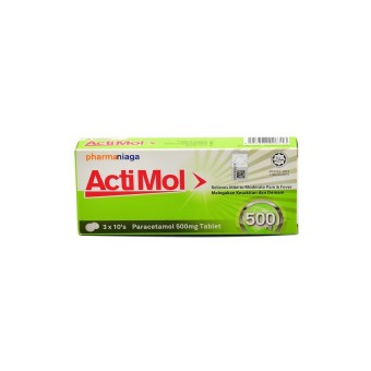 Actimol Tablet 500Mg 3 X10S