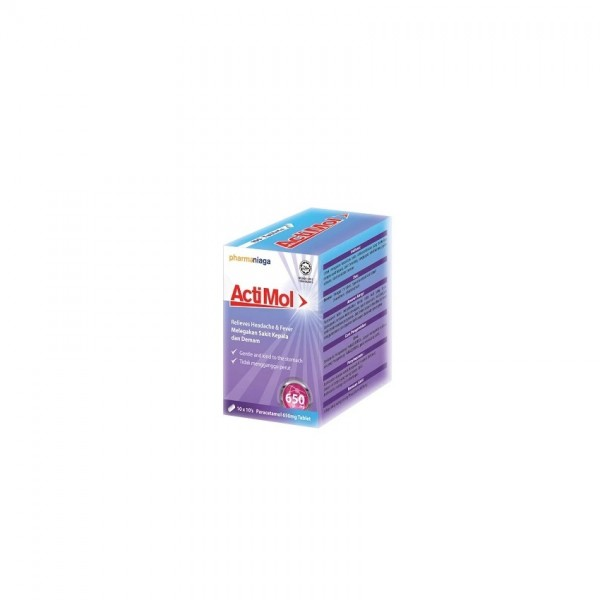 Actimol Tablet 650Mg 100 X 10S