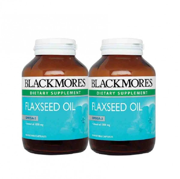 Blackmores Flaxseed Oil 90S X2